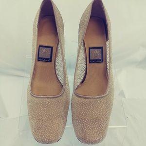 Nina Women's ShoesClassic PumpsGold Lame